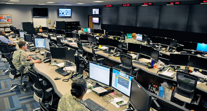 Cyber Operations Center at Fort Gordon, Georgia