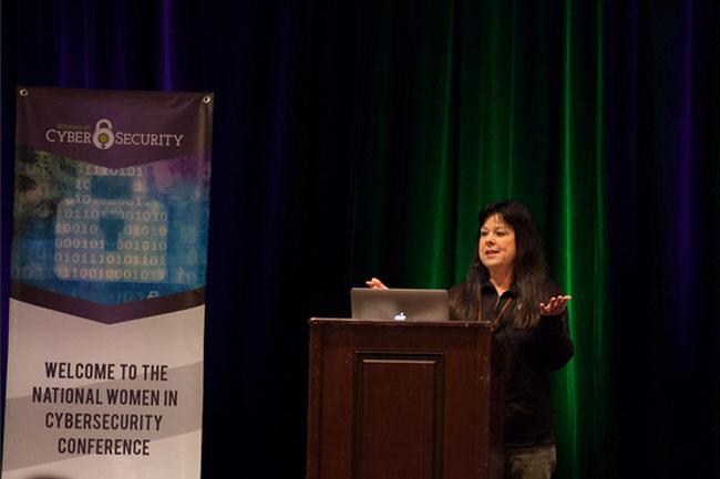 Sherri Ramsay (of CyberPoint International)
