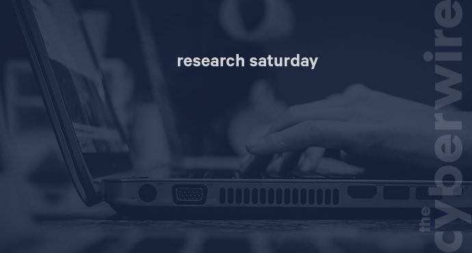 Research Saturday 3.31.18