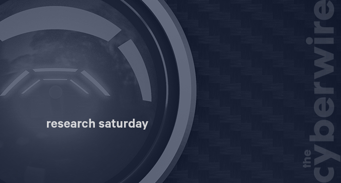 Research Saturday 5.12.18