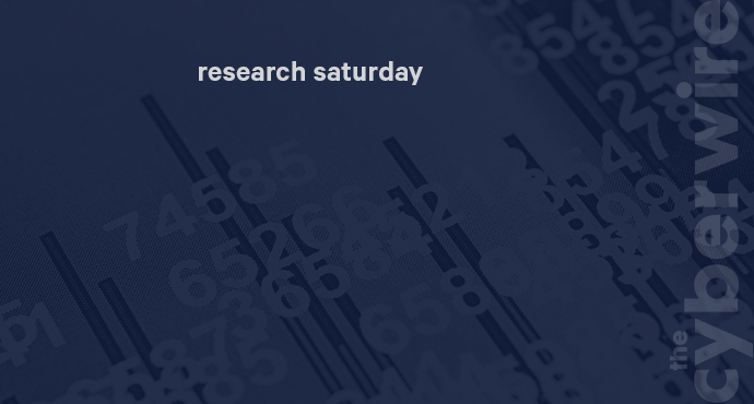 Research Saturday 6.16.18