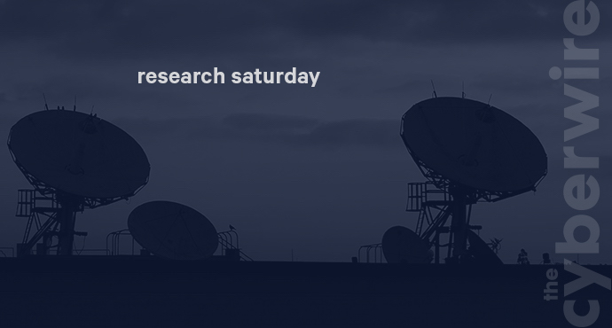 Research Saturday 8.11.18
