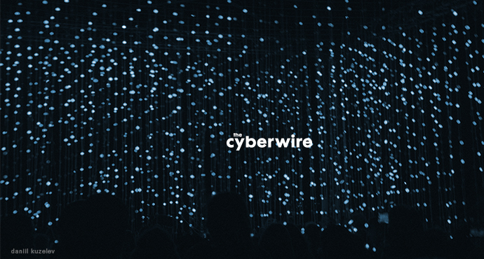 The CyberWire Daily Podcast 10.25.18