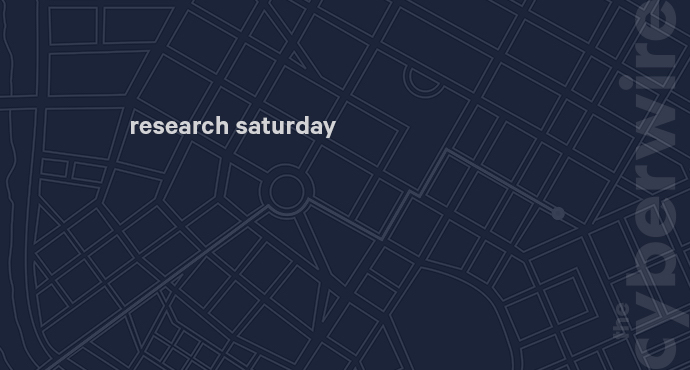 Research Saturday 10.13.18