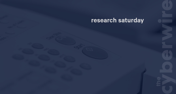 Research Saturday 10.27.18