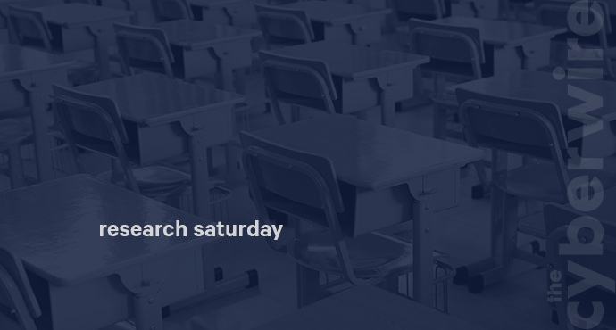 Research Saturday 12.1.18