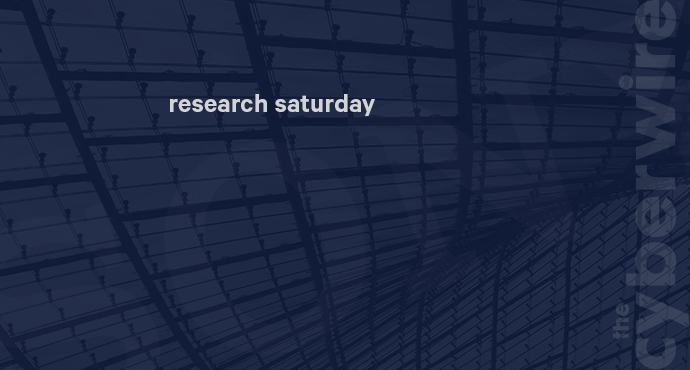 Research Saturday 12.15.18