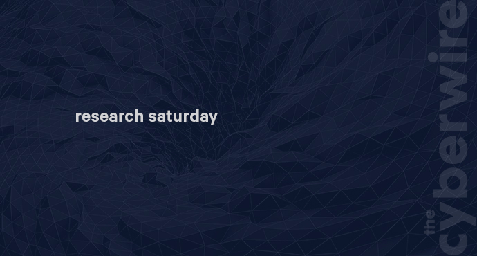 Research Saturday 3.23.19