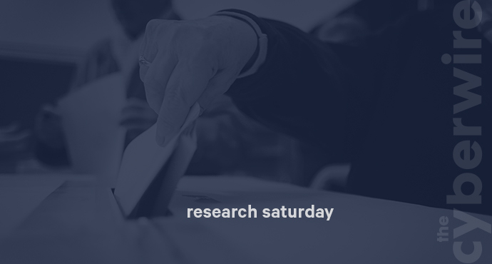 Research Saturday 4.6.19