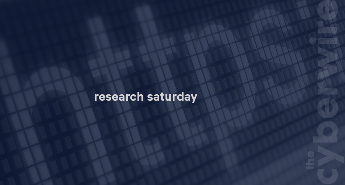 Research Saturday 6.22.19