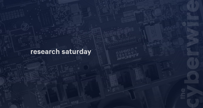 Research Saturday 9.7.19