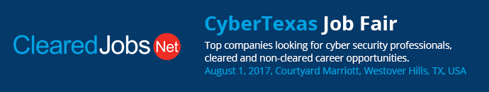 ClearedJobs - CyberTexas Job Fair