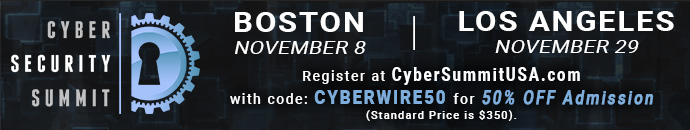 Cyber Security Summit - CYBERWIRE50