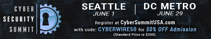 Cyber Security Summit - 6.1.17 - CYBERWIRE50